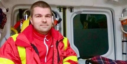 A mohácsi mentőállomáson dolgozik a hét mentőtisztjének választott Pandur Attila