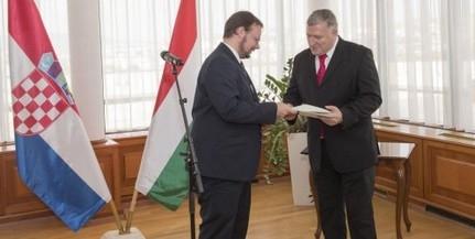 Új horvát főkonzul kezdte meg működését Pécsett