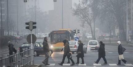 Az országban több helyen, Pécsett is kifogásolható a levegő minősége a por miatt