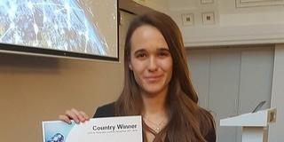 A PTE hallgatója, Bárdos Kata nyerte a nemzetközi mesterséges intelligencia versenyt
