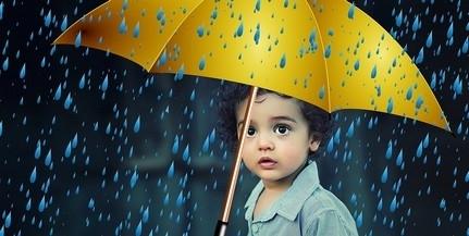 Esős, szeles, szomorkás idő lesz vasárnap