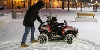 Kutya hideggel indul a hét, mínusz 15 fok is lehet, havazás, ónos eső is várható