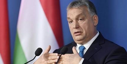 Orbán: a cél, hogy az európai intézményekben a bevándorlásellenesek kerüljenek többségbe