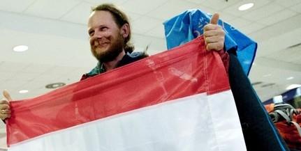 Hazatért Rakonczay Gábor az Antarktiszról