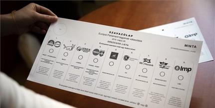 Már nyomtatják az EP-választáshoz a szavazólapokat