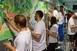 Mesélnek a falak - Önkéntesek sokasága varázsolt mesevilágot a gyermekklinikára