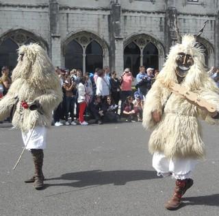 Lisszabonban, az Ibériai Maszkos Fesztiválion is bemutatkoztak a mohácsi busók