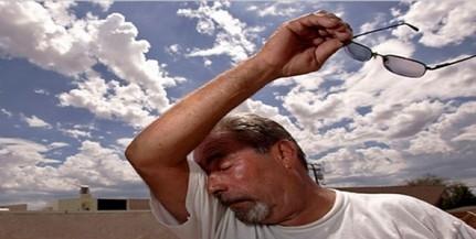 Erős UV-B sugárzásra és hőségre figyelmeztetnek
