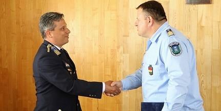 Átvette kinevezését Harmati Béla, a baranyai rendőr-főkapitányság új bűnügyi főnöke