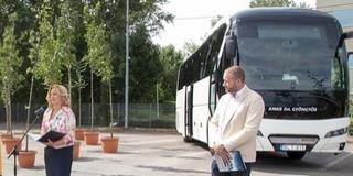 A Dél-Dunántúlon is futnak majd az új autóbuszok