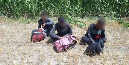 Átadták a horvátoknak a Sátorhelyen elfogott migránsokat