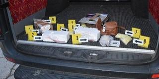 Csaknem négy kilogramm drogot foglaltak le a rendőrök Baranyában