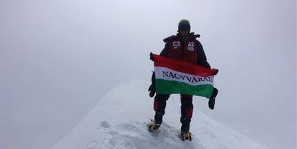 Varga Csaba hóviharban mászta meg a nyolcezres csúcsot