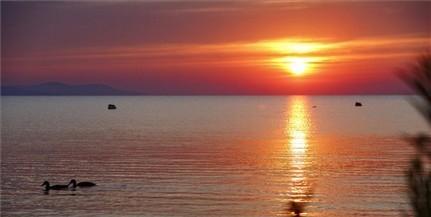 Ilyen csodás egy napfelkelte a Balatonnál