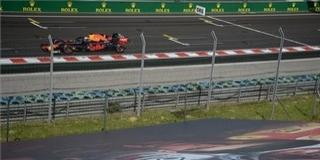 Verstappen pályafutása első pole pozícióját szerezte