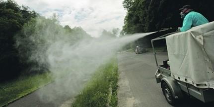 A Dráva mentén folytatódik a szúnyoggyérítés Baranyában