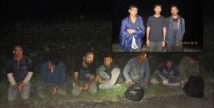 Két csoportban tíz migránst fogtak el Hercegszántónál éjjel