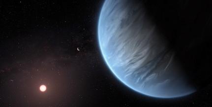 Vízgőzt fedeztek fel egy lakható bolygó légkörében
