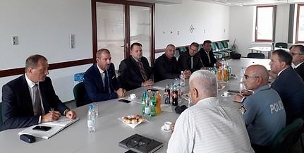 Mohácson találkoztak a két Baranya rendőri vezetői