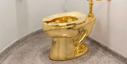Elloptak egy tömör aranyból készült WC-csészét egy kastélyból