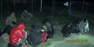 Tizenkét betolakodót tartóztattak fel a határvédők Hercegszántónál