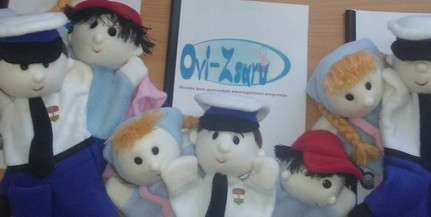Újabb baranyai óvodák csatlakoztak az Ovi-Zsaru programhoz