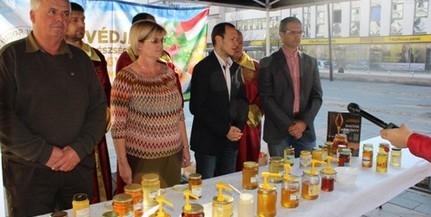A Baranyában termelt mézet népszerűsítették Pécsett