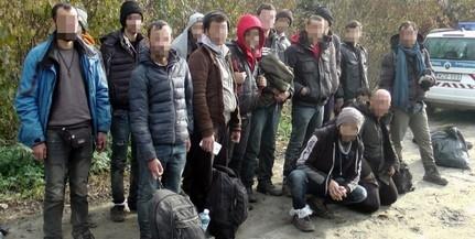 Hétfőn délben is feltartóztattak migránsokat Hercegszántón
