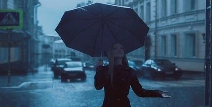 Esős, szeles, napról napra egyre hűvösebb időjárás várható a héten