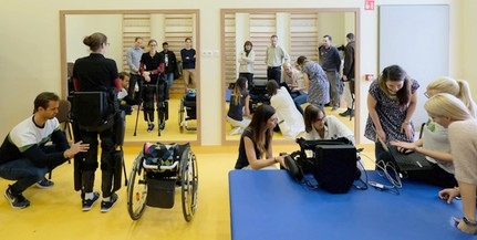 Csúcstechnológiás eszközökkel javíthatják a gerincvelő-sérültek életkörülményeit