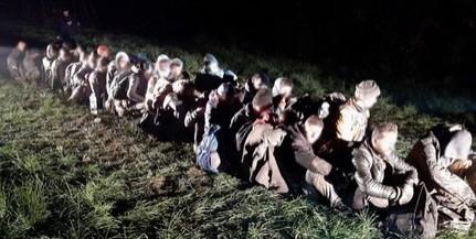Több mint kétszeresére emelkedett a Baranyában elfogott migránsok száma