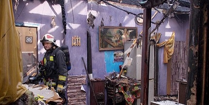 Teljesen kiégett, lakhatatlanná vált egy pécsi családi ház