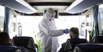 Koronavírus: Baranyában, az udvari határátkelőhelyen is kiemelten ellenőrzik az utasokat