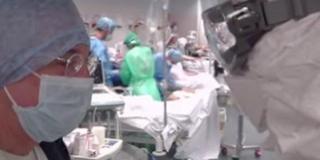 Videó: így néz ki belülről egy olasz kórház a válsághelyzetben