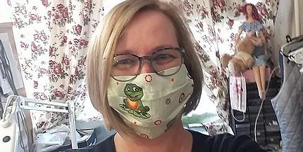 Ingyen adja a maszkokat az egyik pécsi varroda