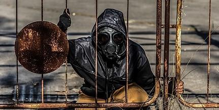 Fullasztó a levegő Kijevben a csernobili tűz miatt