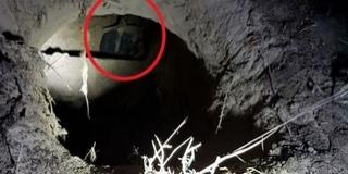 Huszonnégy méter hosszú alagutat fedeztek fel a határnál
