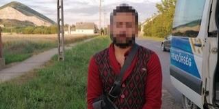 Feltartóztattak egy Nagyharsányban kódorgó migránst