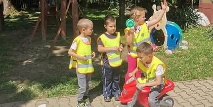 Birtokba vették a kicsik a KRESZ-Ovit Szigetváron