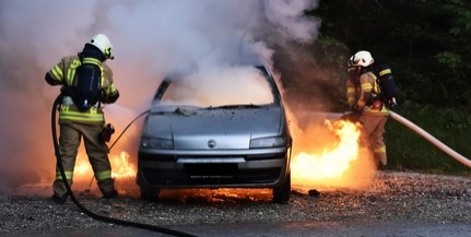 Tűz üthet ki az autóban hagyott kézfertőtlenítő miatt