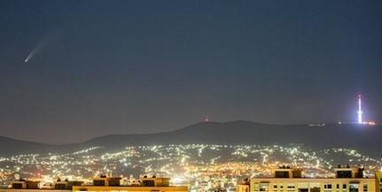 Pécs felett is felragyott az égen az ötezer éve nem látott vándor - Ma éjjel is megfigyelhetjük