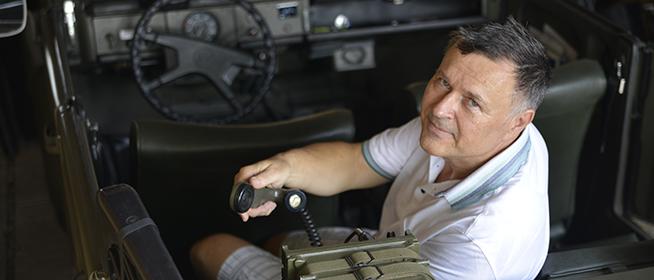 Pécsi garázsban élvezi az obsitot a legendás német terepjáró, a Kübelwagen egy példánya