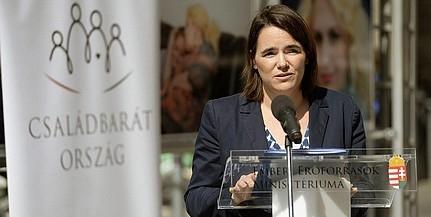 Novák Katalin: meg kell őrizni a családpolitikai eredményeket