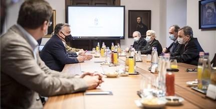 Orbán Viktor folytatta konzultációsorozatát a következő lépésekről