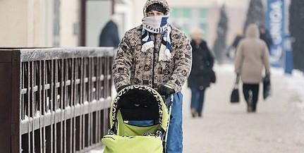 Viharosi széllel töri ránk az ajtót a hideg szombaton