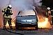 Szilveszter Franciaországban: 861 autót gyújtottak fel