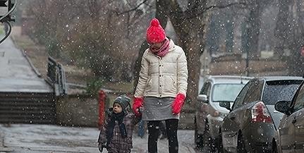 Baranya több pontján is havazás kezdődött