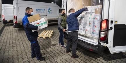 Újabb százezer adag Szputnyik V vakcina érkezett Magyarországra