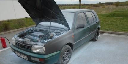 Egy autó, majd egy traktor is lángra kapott Baranyában