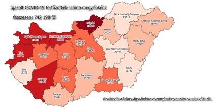 Átlépte a 25 ezret a baranyai fertőzöttek száma